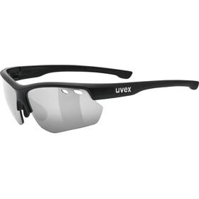 UVEX Sportstyle 115 Lunettes de sport, black mat/silver